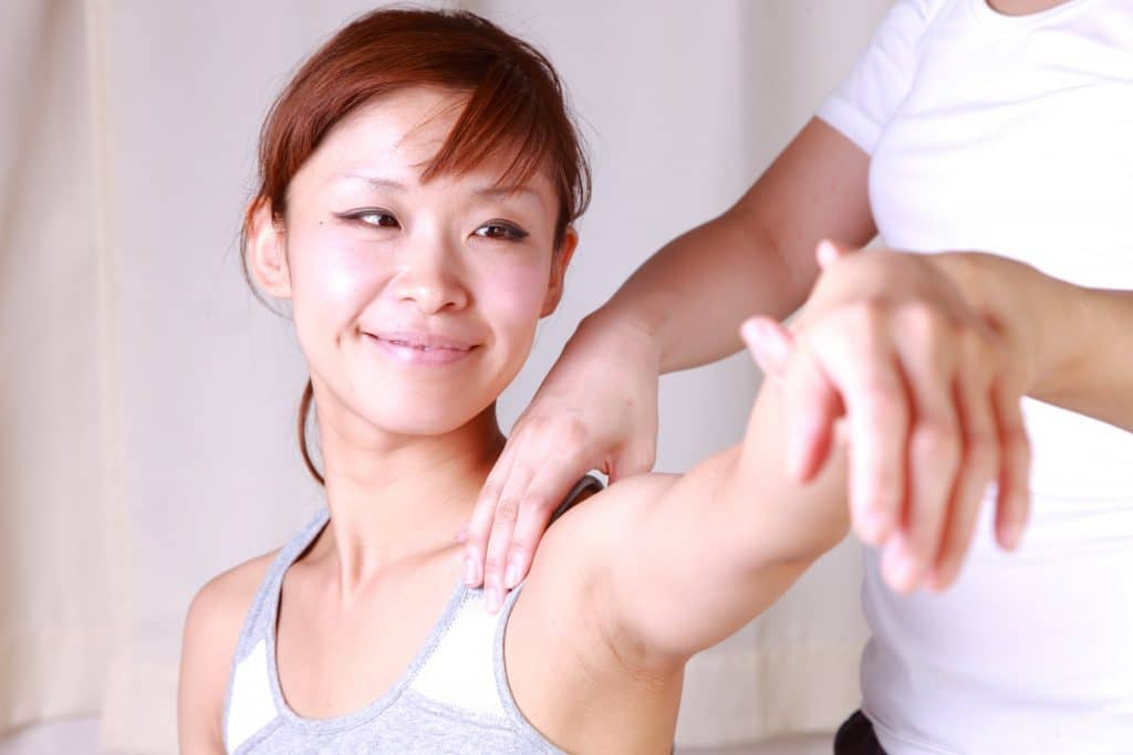 Osteopath Shoulder Pain